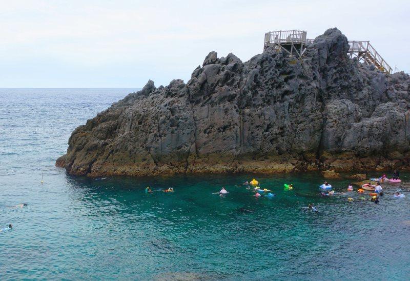 赤崎海岸浮潛