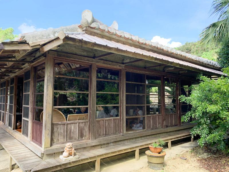 沖繩麵 下門房屋外觀