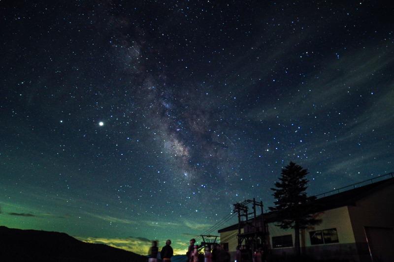 萬座地區的星空