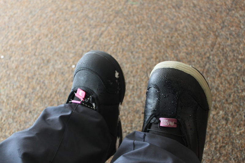 雪褲與雪靴