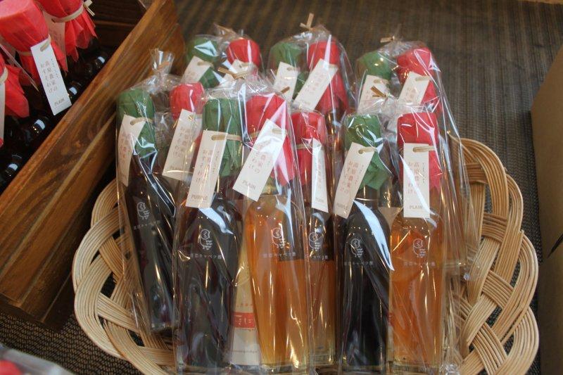 「あさまのいぶき」店內商品——高麗菜醋
