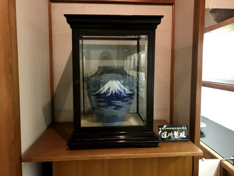 深川製磁皇室御用大花瓶