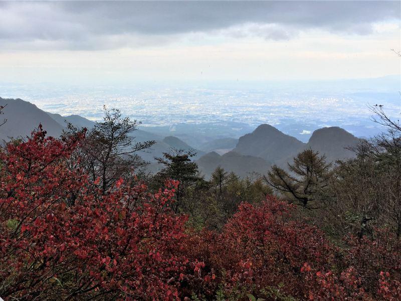 榛名富士山頂眺望