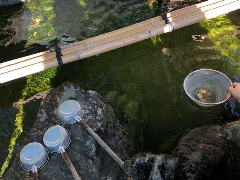 川越熊野神社錢洗弁財天