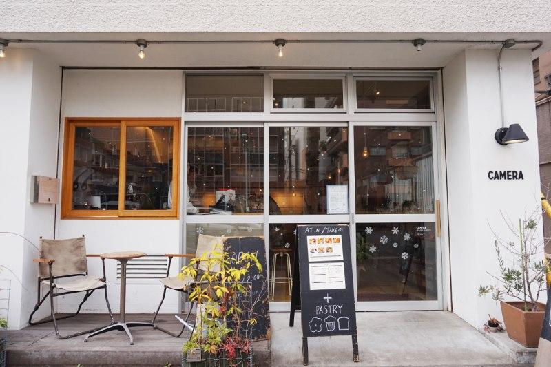 藏前咖啡店CAMERA外觀