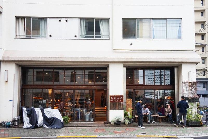 藏前背包客棧兼咖啡店Nui. HOSTEL & BAR LOUNGE的外觀