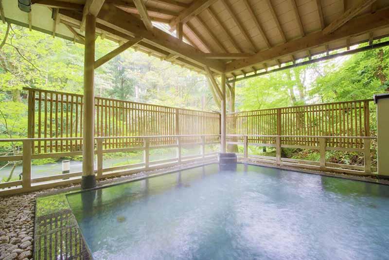 「Yoshinoya 依綠園」浴池