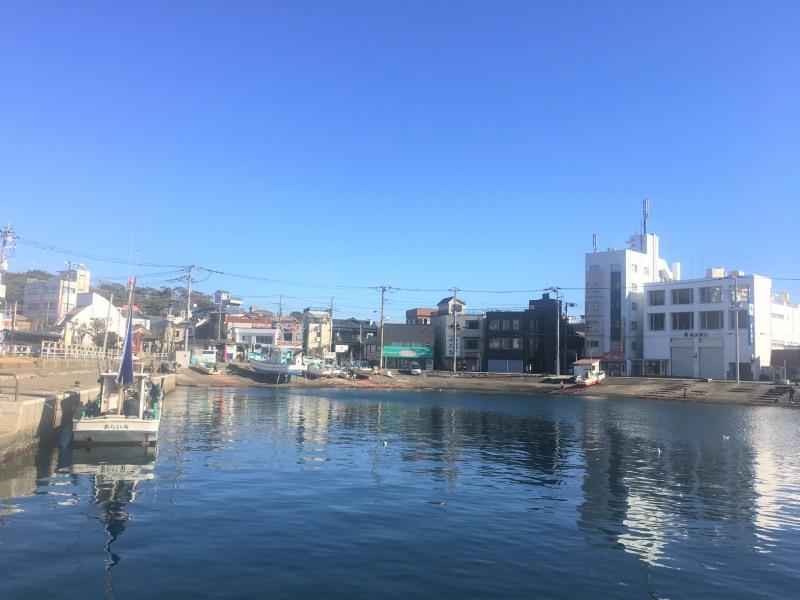 三崎港海邊