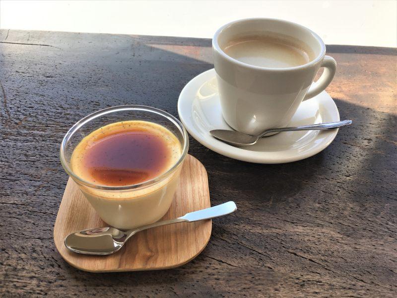 咖啡與手工布丁