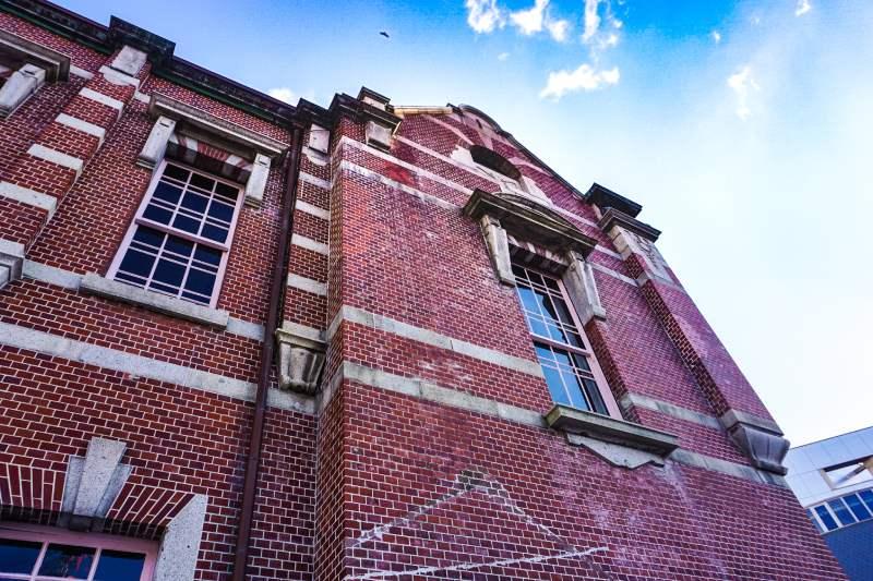 岩手銀行建築紅磚