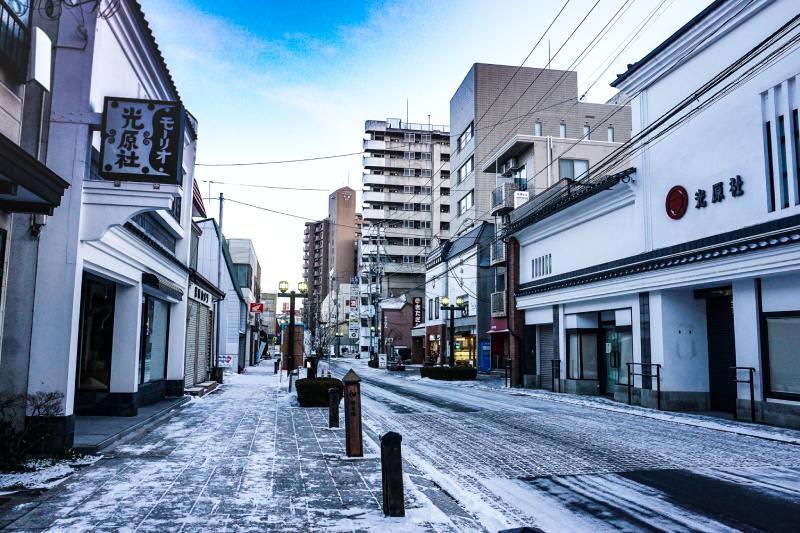 材木町街道風景