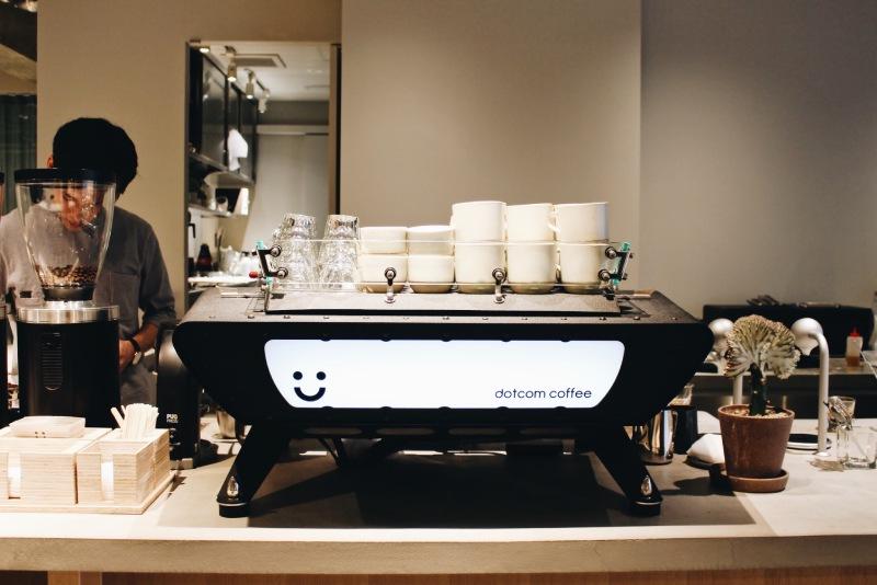 dotcom space Tokyo咖啡機