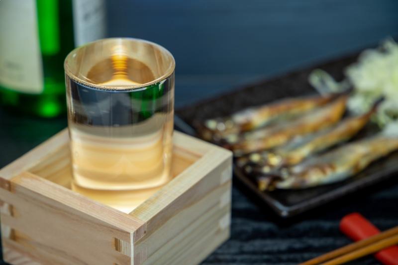 日本酒和魚