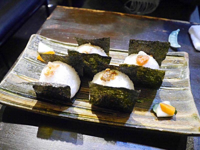 「飯糰Cafe利saku」的飯糰