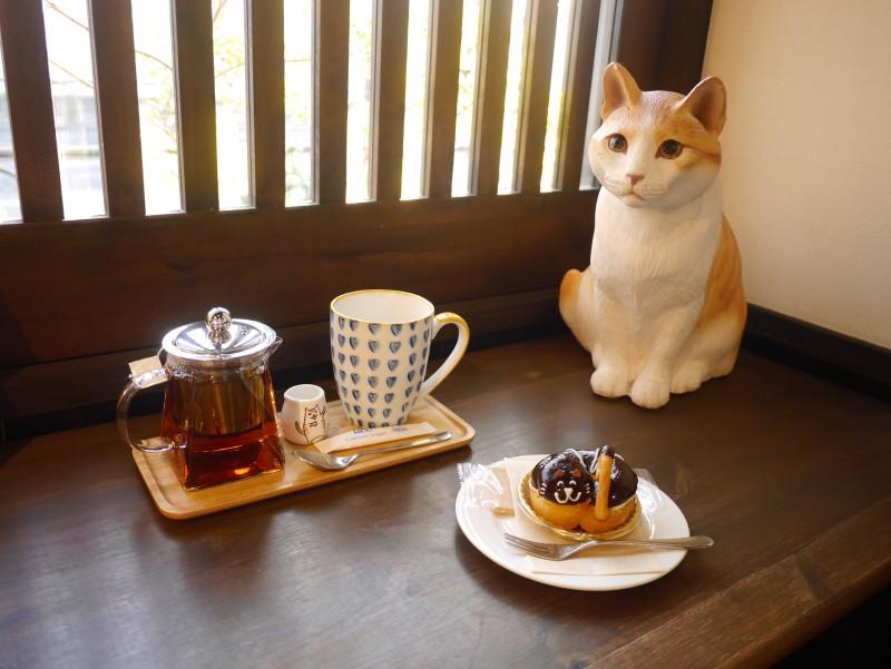 Cafe貓衛門的蛋糕與器皿