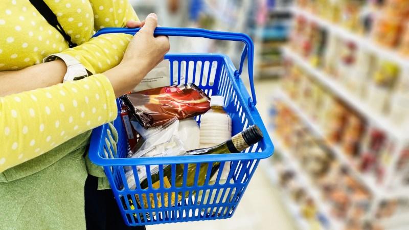超市的購物籃
