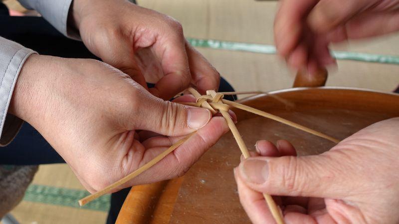 體驗手作藤蔓編織