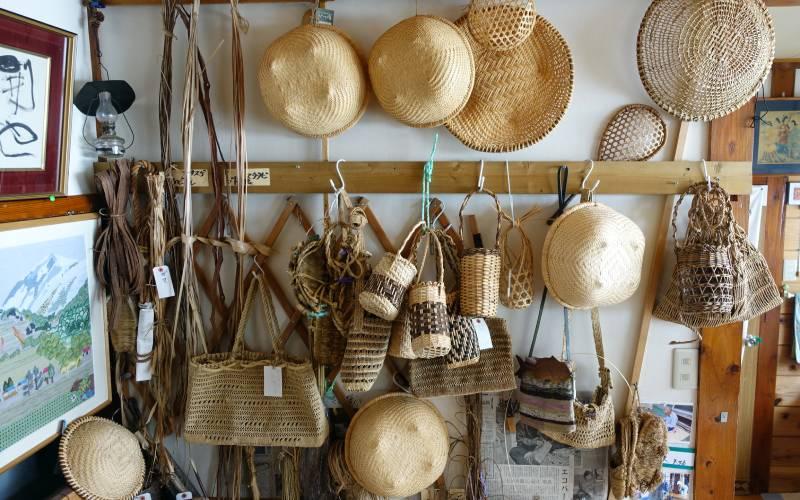 各種手作藤蔓編織雜貨