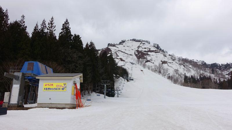 只見滑雪場和纜車