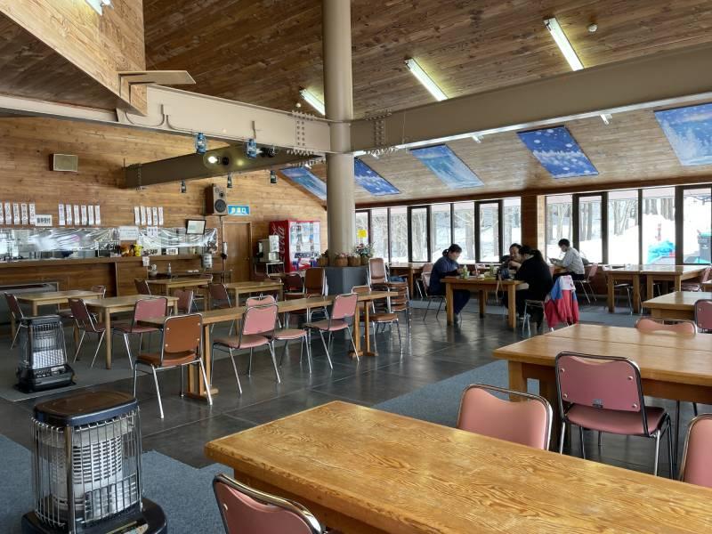 只見滑雪場餐廳YAMABIKO內