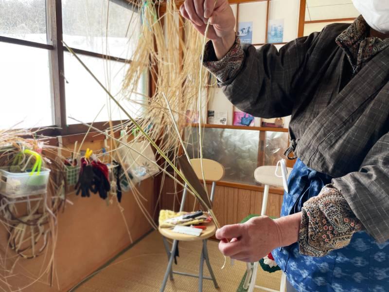 藤蔓編織的材料