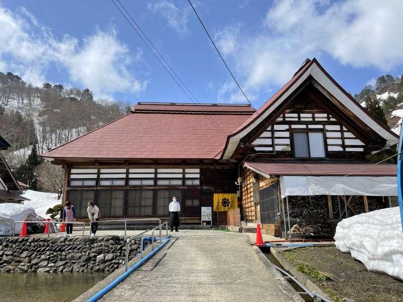 古民家餐廳「ガレット・エ・ポムポム」(Galettes-Et-Pommepomme)外觀
