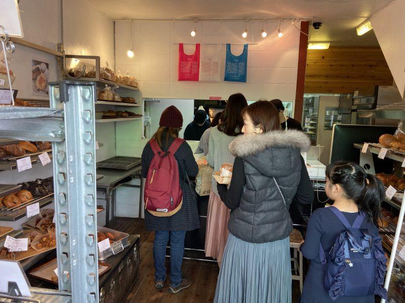 TOLO PAN TOKYO店內
