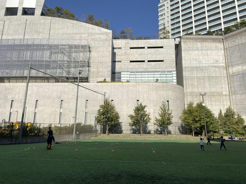 目黑天空庭園一樓的運動場