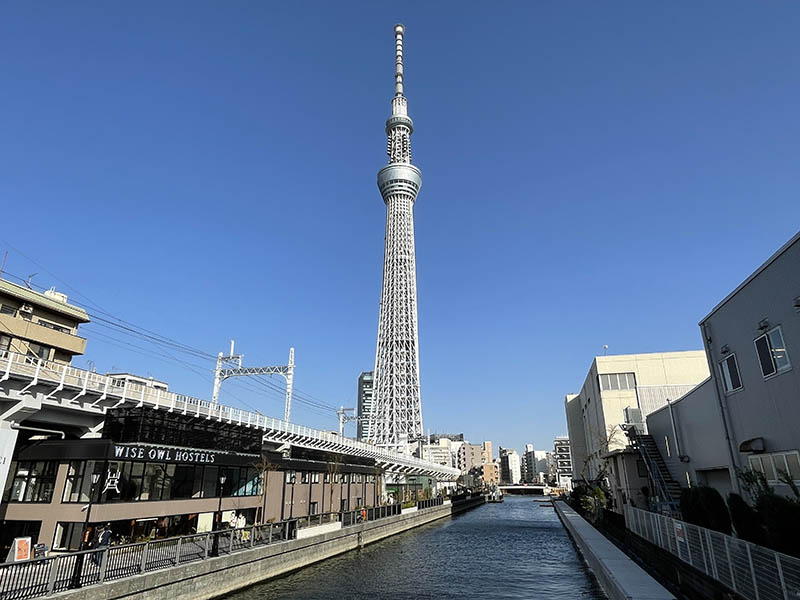 TOKYO mizumachi與晴空塔