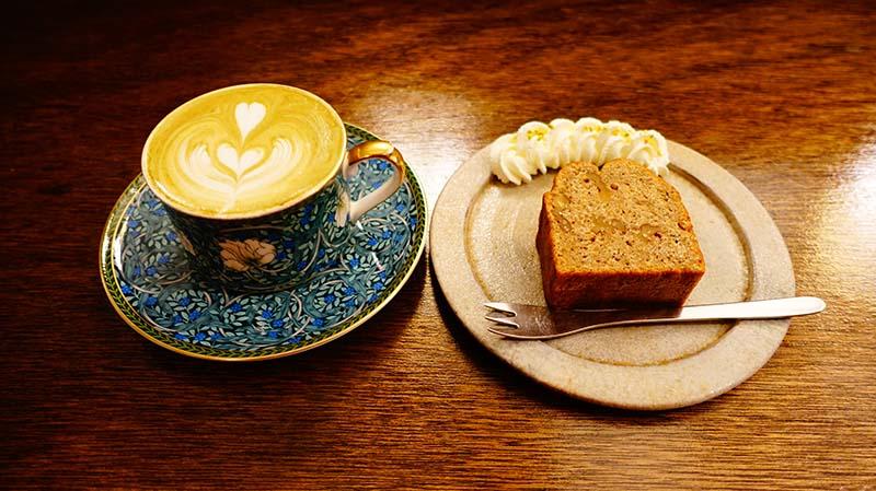 甜品與咖啡
