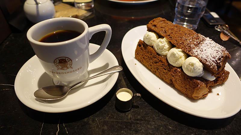 梟BLEND咖啡和書本戚風蛋糕