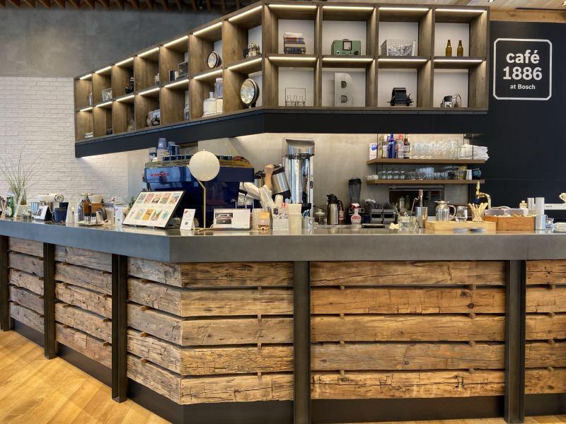 CAFE 1886@Bosch櫃檯