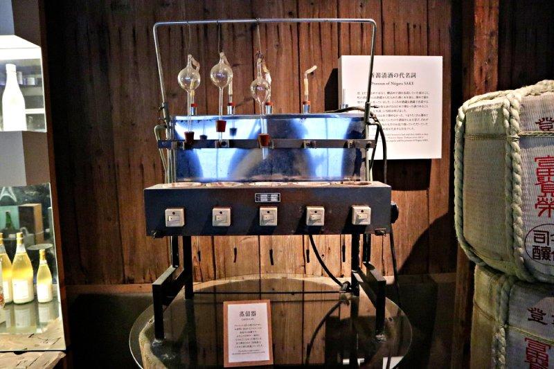 今代司酒造的蒸餾器