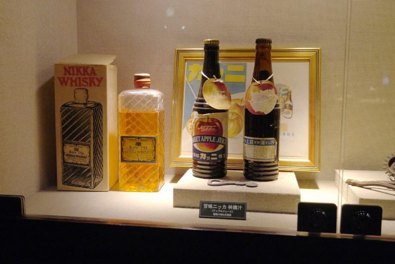 余市蒸餾所的館內展示品