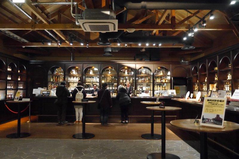 余市蒸餾所的威士忌俱樂部