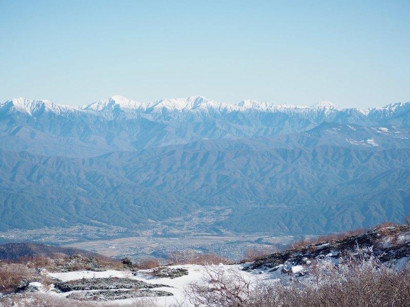 中央阿爾卑斯山的風景