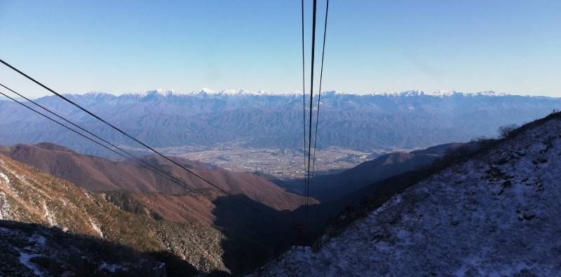 南阿爾卑斯山的景觀