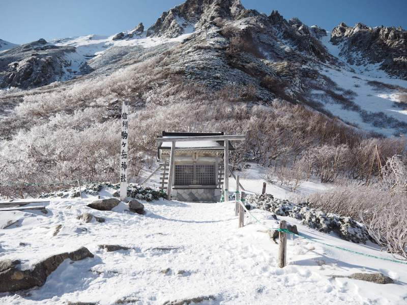 信州駒岳神社