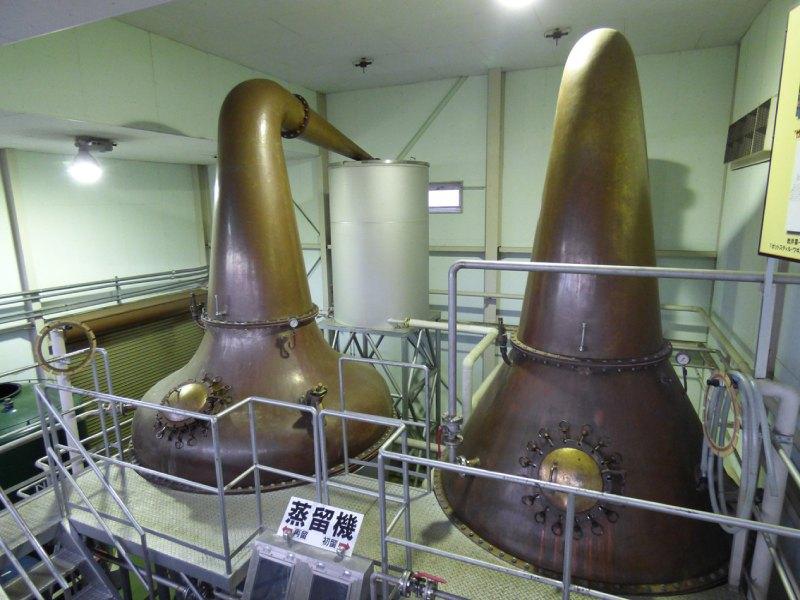 MARS信州蒸溜所的蒸餾機