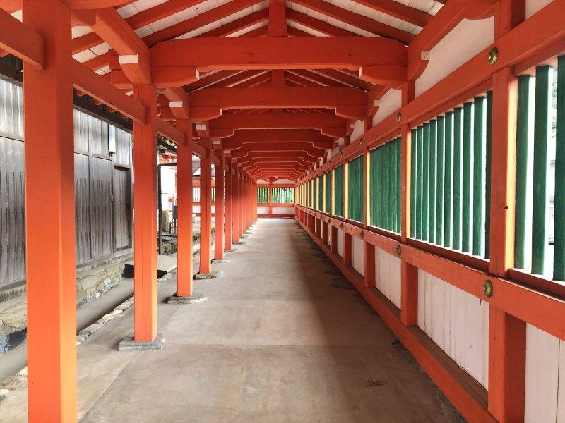 島根出雲日御碕神社迴廊