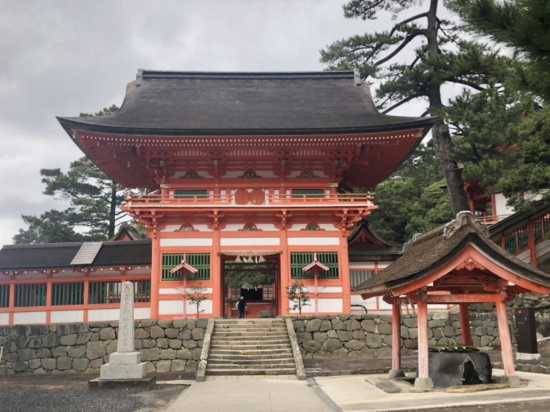 島根出雲日御碕神社櫻門