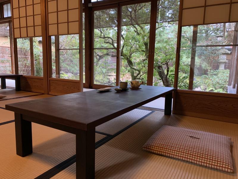 茶寮 寶泉的座位