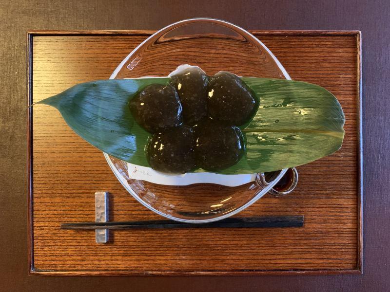 茶寮 寶泉的蕨餅