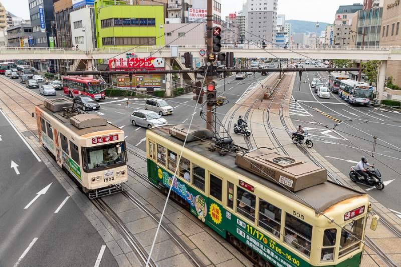 長崎站前天橋