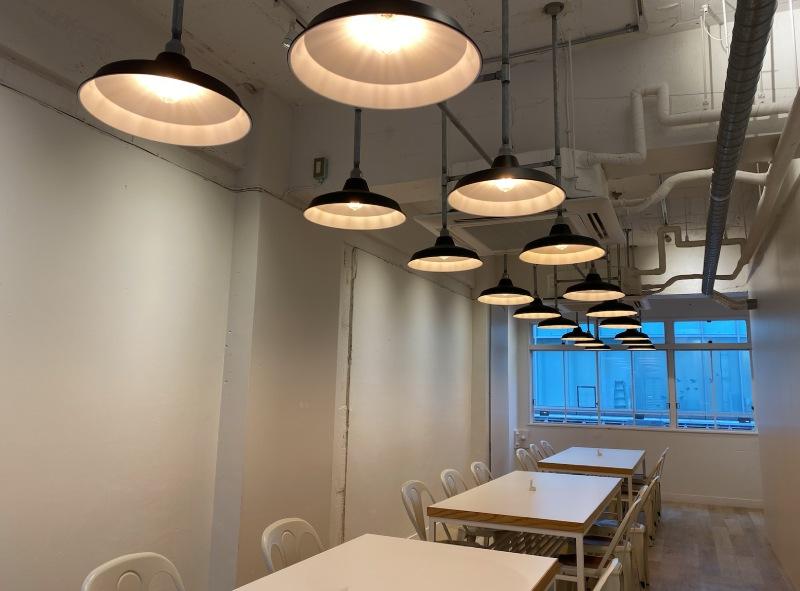 Maruzen Tea Roastery的2樓座位區