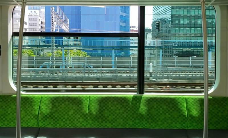 電車的窗戶