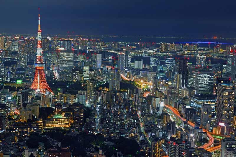 東京都會夜景