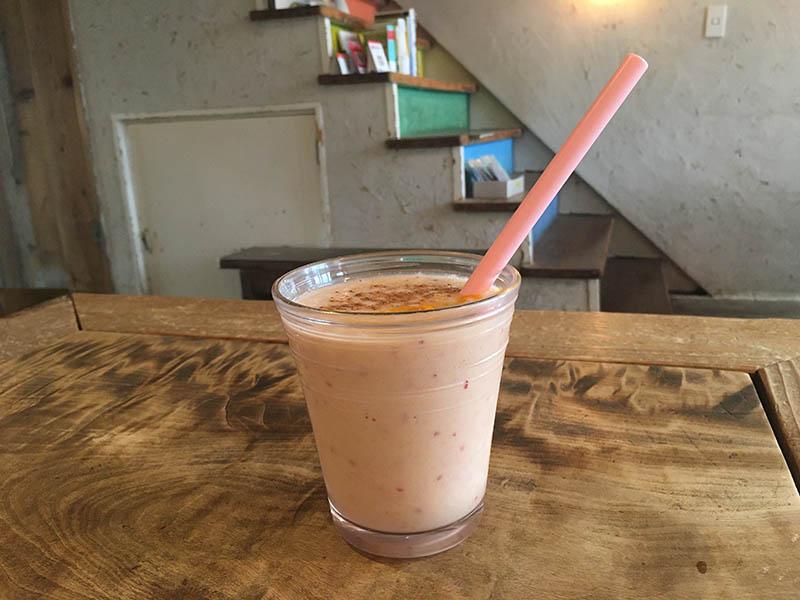「Cafe Fluorite」的果昔