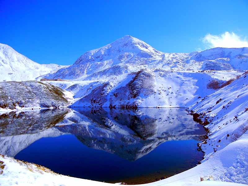 冬天的立山黑部