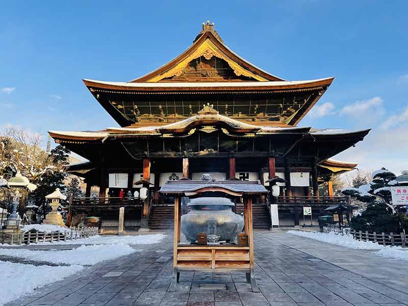 善光寺的冬天